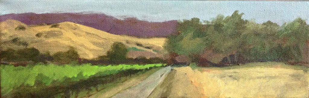 SOLD! Sycamore Grove Plein Air
