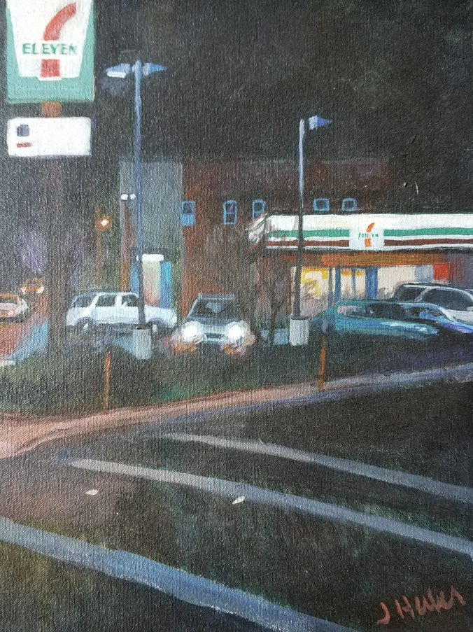 7-11 painting