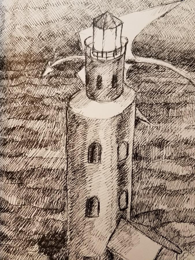 lg dragon lighthouse
