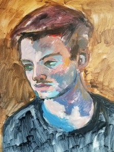 Elliot Huber, Age 16, work in progress