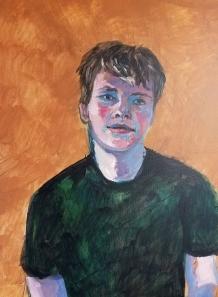 John Huber, age 15
