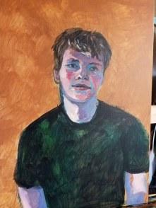 John Huber, age 14, work in progress